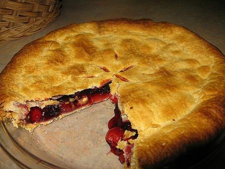 Рецепт американского вишневого пирога