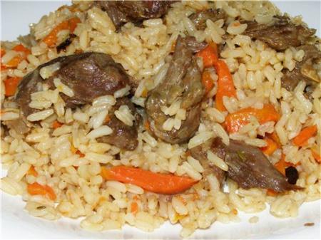 Рецепт ароматного персидского плова