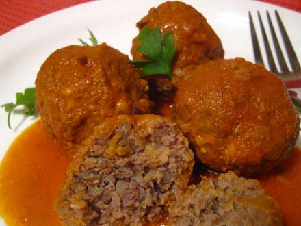 Рецепт тефтелей телятиной и овощами