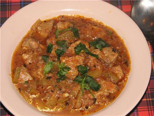 Мясо по-грузински рецепт с фото в мультиварке
