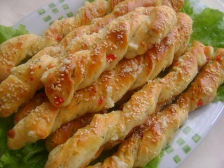 Рецепт хлебных палочек