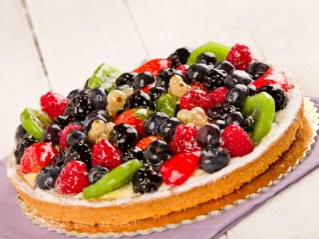 Рецепт торта «Ягоды на снегу»