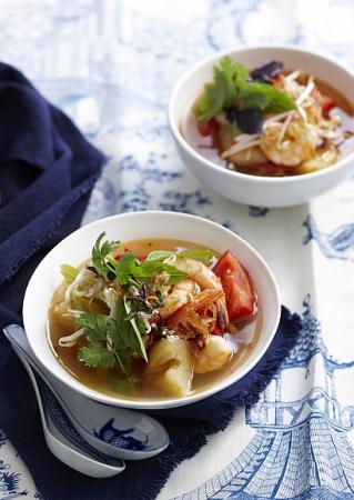 Рецепт тайского супа