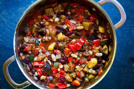 Рецепт пряного вегетарианского чили