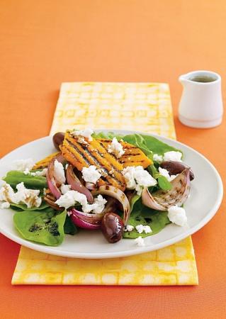 Рецепт тыквенного салата на гриле