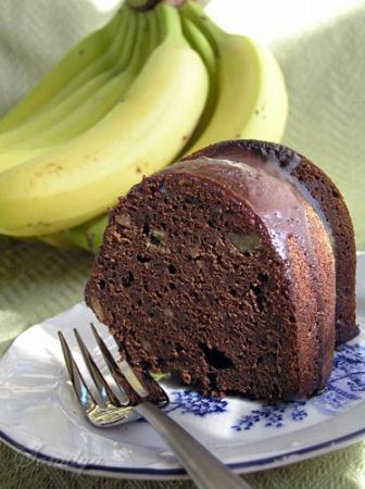 Рецепт шоколадного кекса с медом