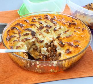 Рецепт картофельной запеканки с мясом