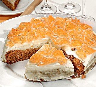 Рецепт яблочно-морковного пирога