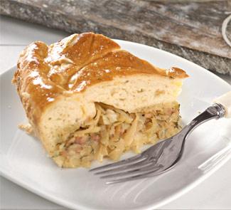 Рецепт пирога с молодой капустой