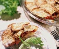 Рецепт итальянского пирога с курицей и кабачком