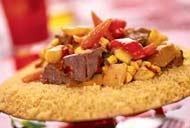 Рецепт кускуса с говядиной и овощами