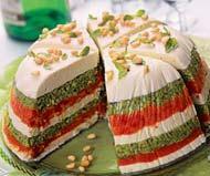 Рецепт торта из вяленых томатов и песто