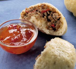 Рецепт китайских булочек с уткой и тархуном