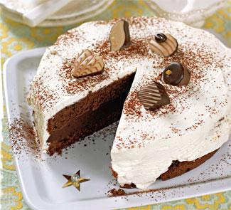 Рецепт торта из чёрного шоколада