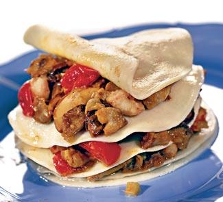 Рецепт лазаньи с рыбным филе и грибами