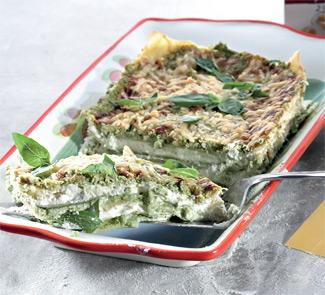 Рецепт лигурийской лазаньи