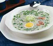 Рецепт супа из щавеля с огурцом