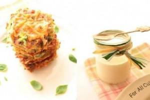Рецепт - Овощные оладьи с сырной корочкой