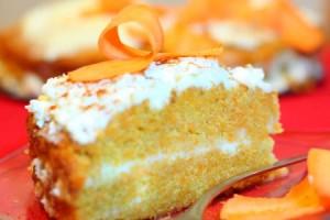 Рецепт - Тыквенный торт с кремом из сливочного сыра