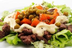 Рецепт - Вкусный салат на 14 февраля