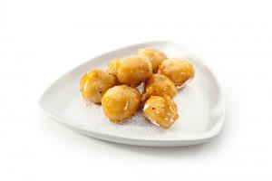 Рецепт - Яблоки в карамели на 14 февраля