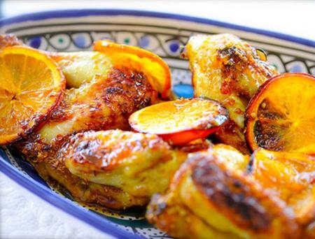 Рецепт -Курица с апельсинами на 14 февраля