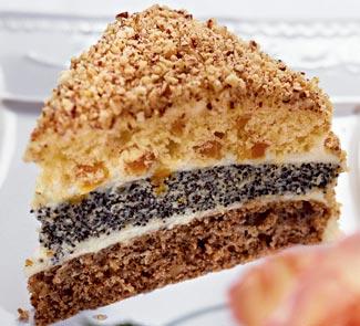 Рецепт - Торт трехслойный на Пасху