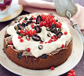 Ягодный пирог с хересом на Пасху
