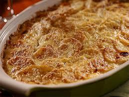 Гратен из картофеля.
