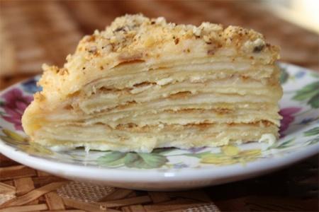 Крем заварной для Наполеона. Как приготовить настоящий заварной крем для любимого лакомства – торта «Наполеон»?