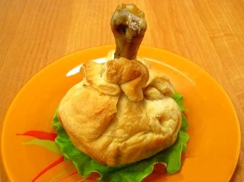 курица в тесте в духовке рецепт пошагово с фото