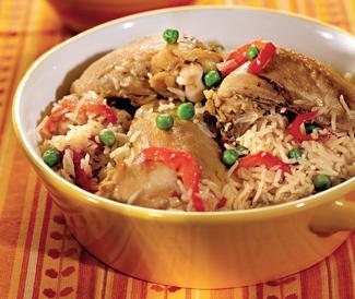 курица в пароварке с рисом