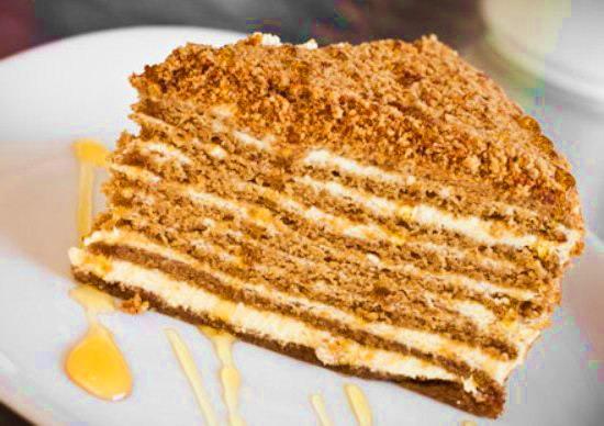 Медовый торт с сгущенкой рецепты с фото