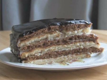 Торт «Мишка». Рецепт приготовления вкуснейшего торта «Мишка» - смотрите видео.