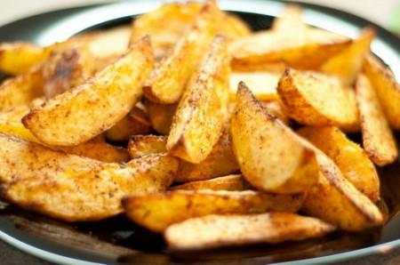 картофель по домашнему в духовке