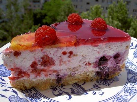 Торт с маршмеллоу и печеньем рецепт