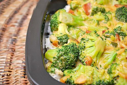 Блюда из замороженной брокколи рецепты