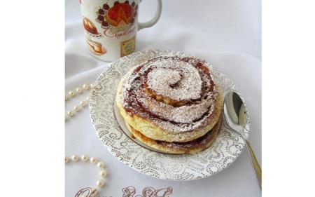 Карамельные панкейки «Доброе утро» - рецепт на 14 февраля. Вариант отличного завтрака на День Святого Валентина.
