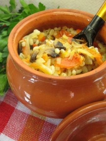 Перловка с овощами. Рецепты приготовления перловки с овощами