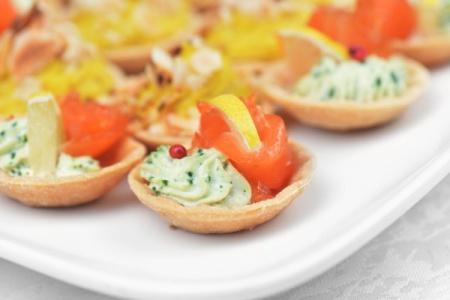 Тарталетки с рыбой и сыром. Рецепты тарталеток с начинкой из рыбы и сыра