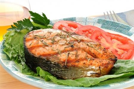 Стейк из семги. Рецепт стейка из семги. Вкусные рыбные стейки