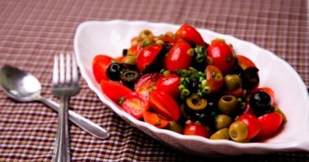 Салат с маслинами. Рецепты вкусных салатов из маслин
