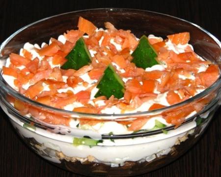 Лосось соленый. Рецепт закуски из соленого лосося