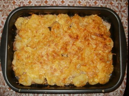 Свинина в духовке с картошкой – нежное мясо и печеная картошка. Быстрый и простой рецепт.