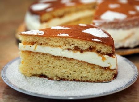 Бисквитный пирог с творогом. Рецепт нежного творожно-бисквитного пирога