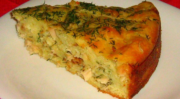 Пирог с курицей и с картошкой в духовке рецепт