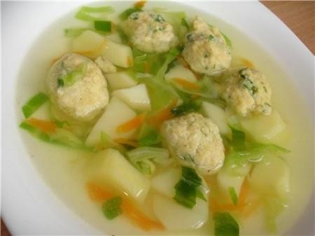 Вкусный суп из курицы. Рецепт с фото куриного супа с клецками