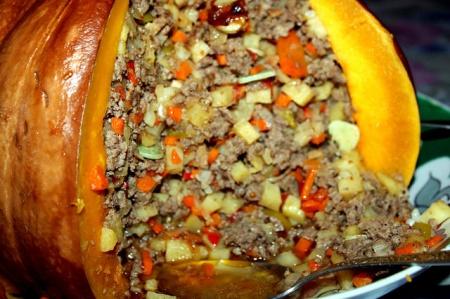 Тыква с мясом. Рецепты с фото вкусных блюд из тыквы и мяса