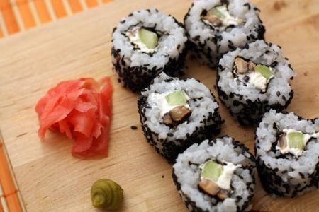Суши диетические без рыбы