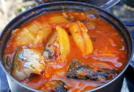 Блюда, приготовленные на костре